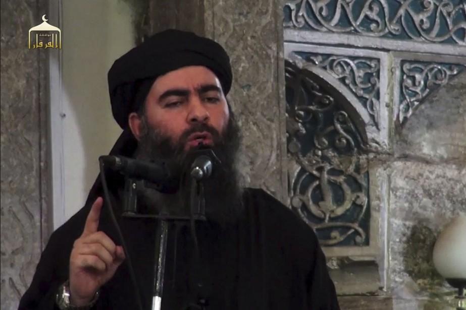 Dans un enregistrement de 24minutes, Abou Bakr al-Baghdadicritique... (PHOTO ARCHIVES AGENCE FRANCE-PRESSE)