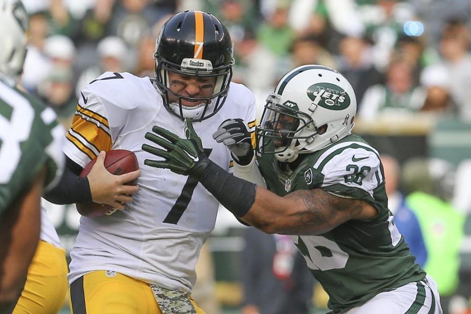 Les Jets ont réussi à empêcherBen Roethlisbergerde trouver... (PHOTO ED MULHOLLAND, USA TODAY)