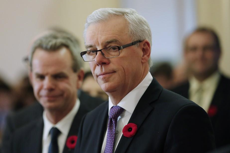 Le premier ministre manitobain, Greg Selinger... (Photo JOHN WOODS, PC)