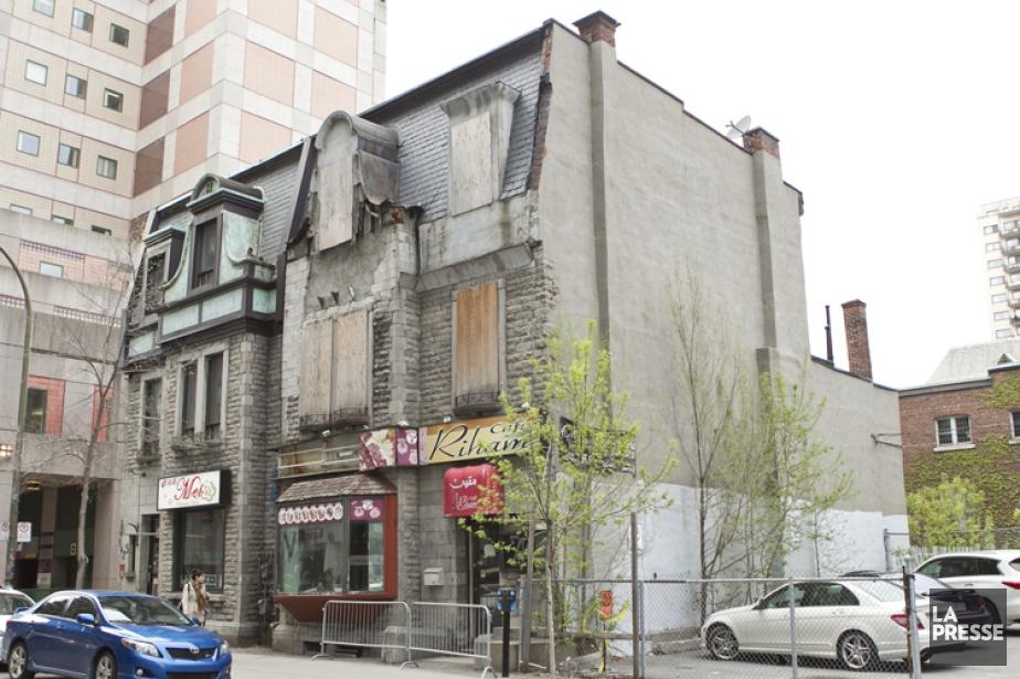 Dans le cadre du réaménagement de la rue... (PHOTO HUGO-SÉBASTIEN AUBERT, ARCHIVES LA PRESSE)
