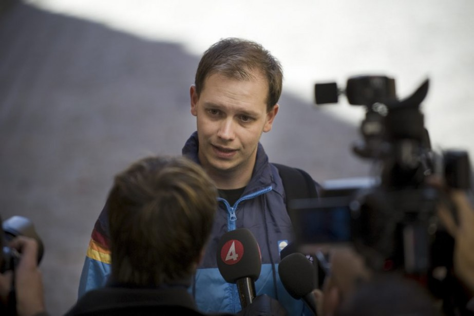 Peter Sunde en septembre 2010.... (PHOTO JONATHAN NACKSTRAND, ARCHIVES AFP)