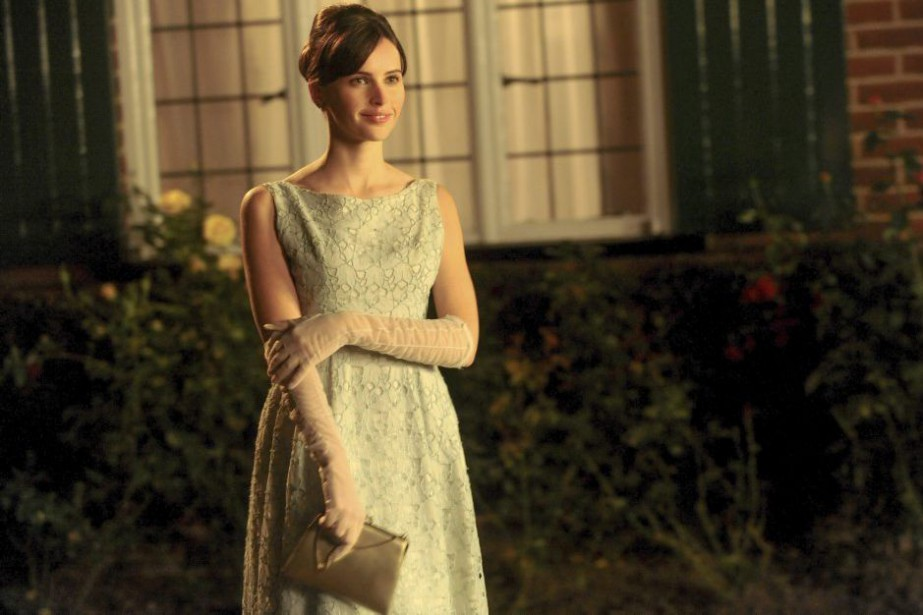 Felicity Jones incarne Jane Wilde dans The Theory... (Photo: fournie par Focus Features)