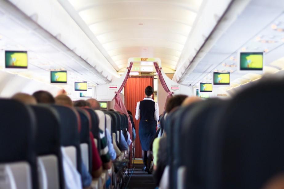 Un vol de la compagnie aérienne... (Photo Shutterstock, Matej Kastelic)