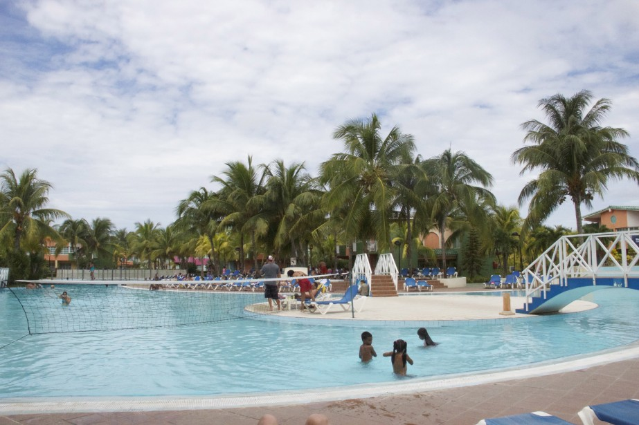 La piscine principale duBarcelo Solymar. (PHOTO MARIE-ÈVE MORASSE, LA PRESSE)