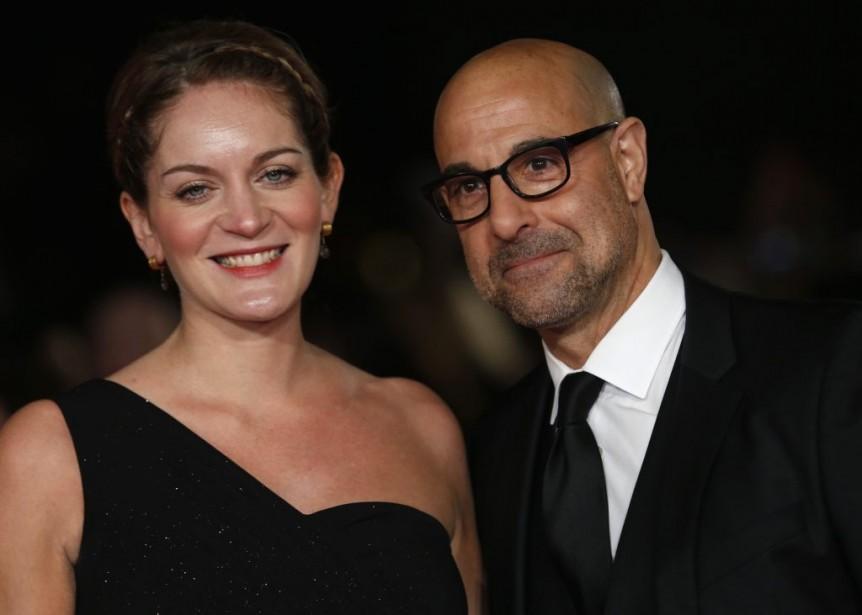 Stanley Tucci et sa femme Felicity Blunt (Photo: Reuters)