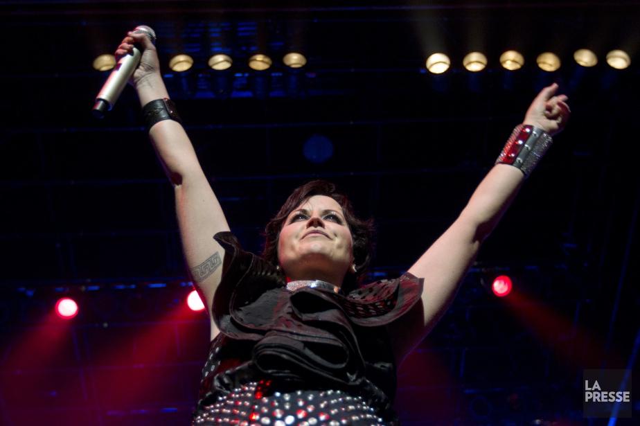 La chanteuse du groupe de rock irlandais Cranberries,... (Photo Ivanoh Demers, Archives La Presse)