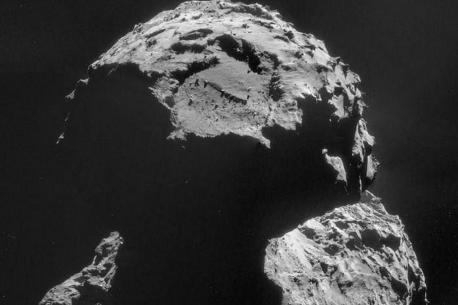 Le largage de Philae par Rosetta est prévu... (PHOTO AGENCE FRANCE-PRESSE)