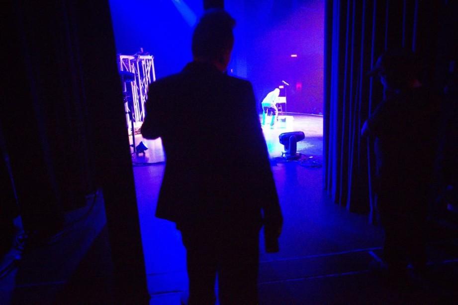 L'ex-membre des Chick'n'Swell Daniel Grenier assurera la première partie de Mike Ward tout au long de sa tournée. (Photo: André Pichette, La Presse)