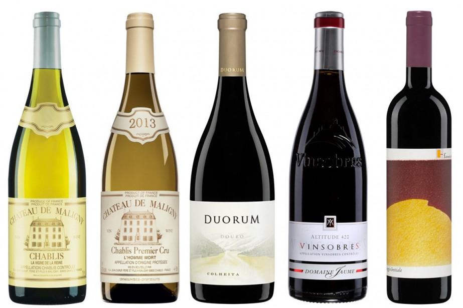 Les chablis sont des vins blancs pour ainsi... (Photos fournies par la SAQ)