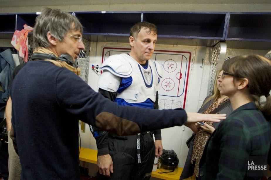 Philippe Falardeau tournait hier au Colisée de Laval... (Photo: Ivanoh Demers, La Presse)