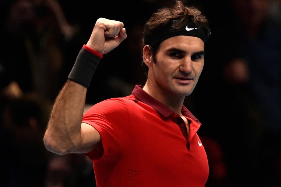 Roger Federer, qualifié pour sa 12e demi-finale... (Photo Toby Melville, Reuters)