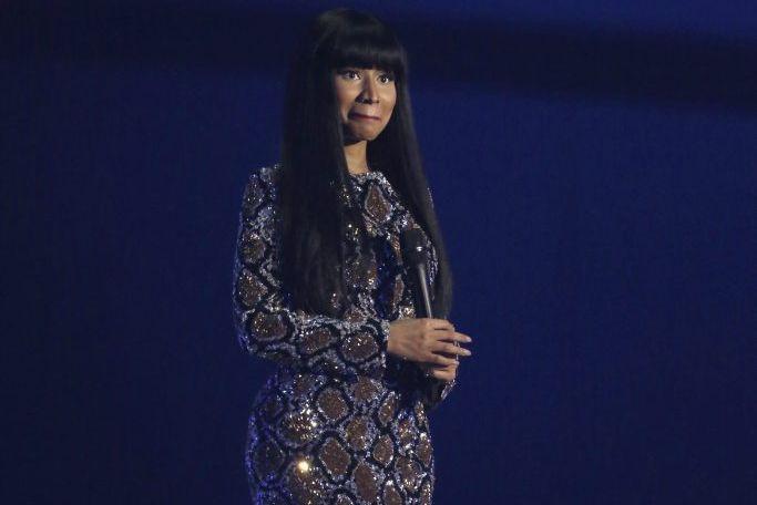 Nicki Minaj aux MTV European Music Awards le... (Photo: archives AP)
