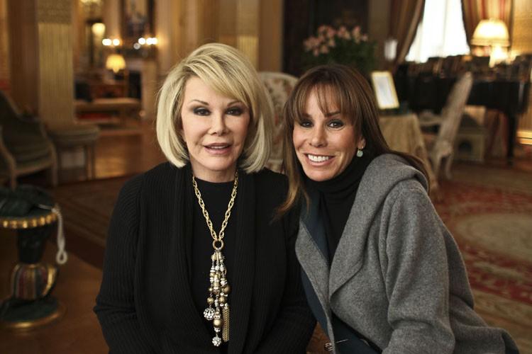 Joan Rivers et sa filleMelissa en janvier 2011.... (Photo: The New York Times)