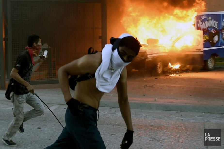 Les manifestations de colère se succèdent au Mexique,... (Photo: AFP)