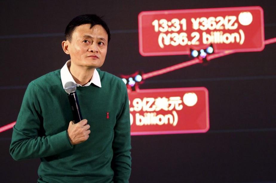 Le président d'Alibaba, Jack Ma, souhaite faire de... (PHOTO ARCHIVES AP)