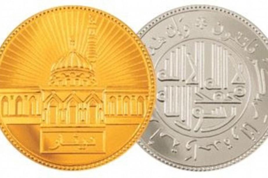 L'EI voudrait émettre sa propre monnaie. Un dinar... (IMAGE DAILYMAIL.CO.UK)