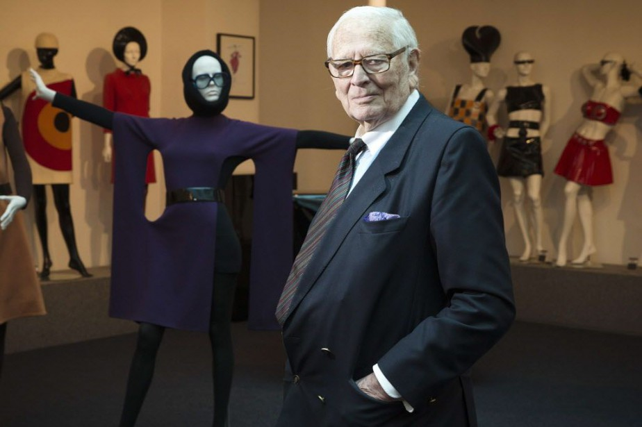Le patriarche de la mode, Pierre Cardin.... (PHOTO JOEL SAGET, AFP)