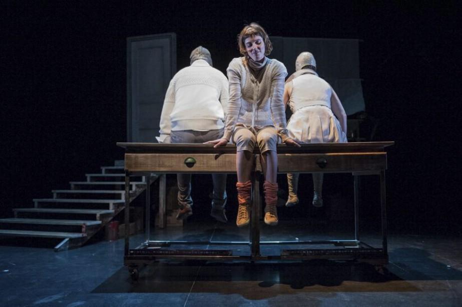 La pièce pour enfants Noeuds papillon aborde le... (Photo: fournie par la Maison théâtre)