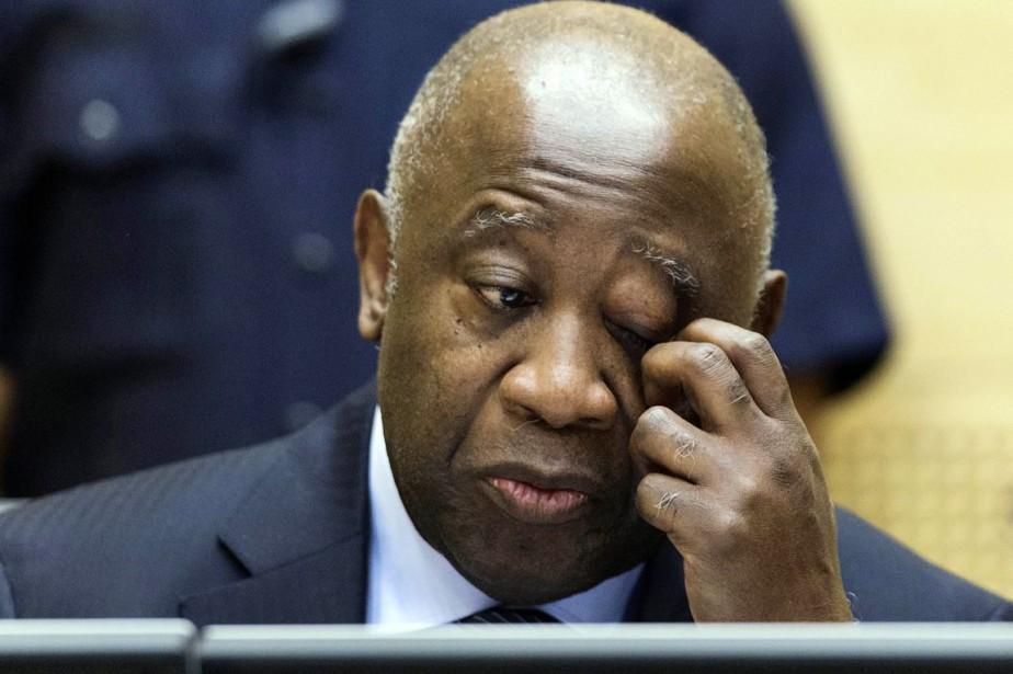 Laurent Gbagbo, emprisonné depuis bientôt trois ans par... (PHOTO MICHAEL KOOREN, ARCHIVES AFP/ANP)