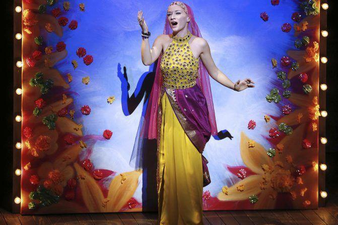 La soprano Sabine Devieilhe sur scène lors du... (Photo: AFP)