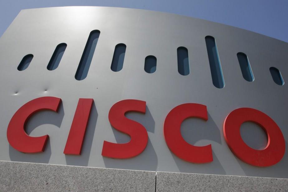 L'équipementier en télécoms américain Cisco a publié... (Photo archives AP)