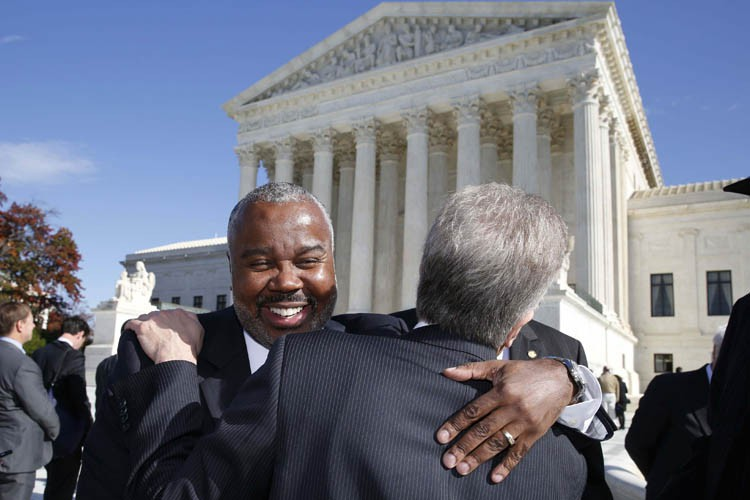Quinton Ross, un sénateur d'État de l'Alabama, semblait... (Photo: Reuters)