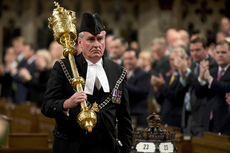 Kevin Vickers a été honoré par la Chambre... (Photo: PC)