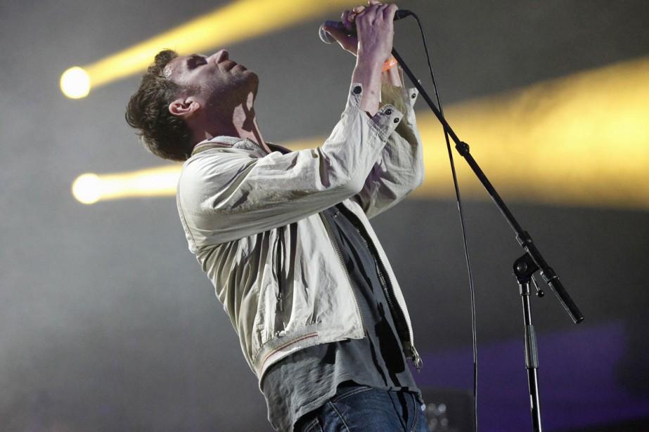 Le chanteur Damon Albarn lors d'une performance au... (Photo: archives Reuters)
