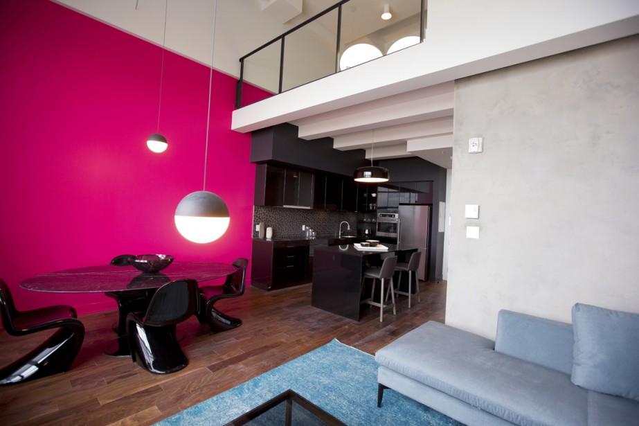 Cet appartement-terrasse, réparti sur trois niveaux, a une superficie de 956 pi<sup>2</sup>. (Photo Alain Roberge, La Presse)