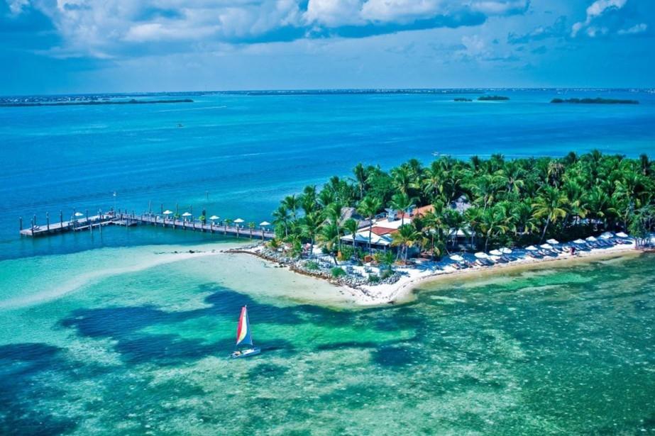L'hôtel Little Palm Island Resort est situé dans... (Photo fournie par Little Palm Island Resort)