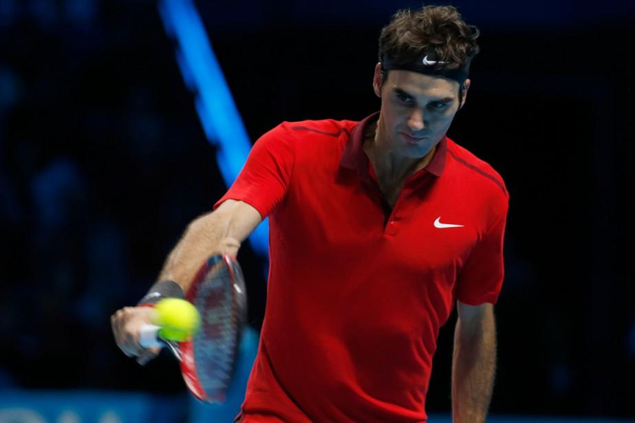 Roger Federer... (Photo Alastair Grant, AP)
