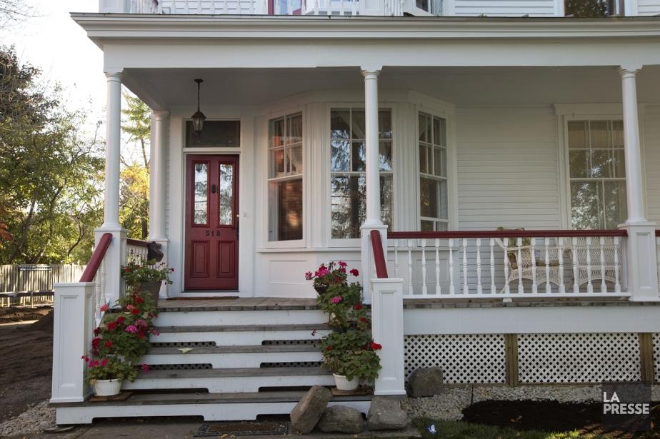 Une restauration mod le for Galerie exterieur maison