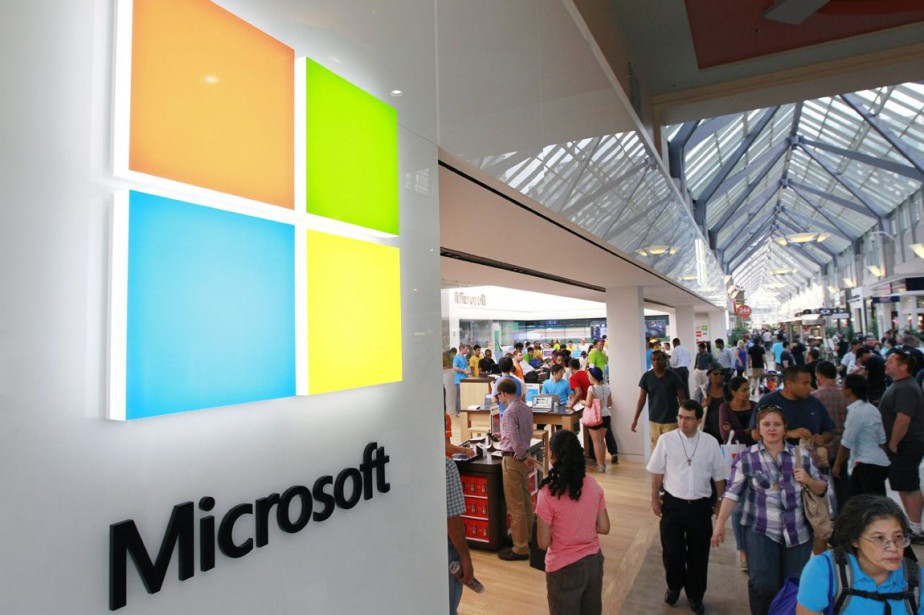 Le groupe informatique américain Microsoft a remplacé... (Photo Archives AP)