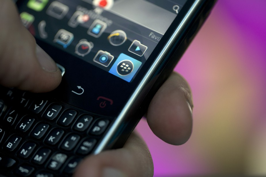 BlackBerry ( (Photo Simon Dawson, Archives Bloomberg)