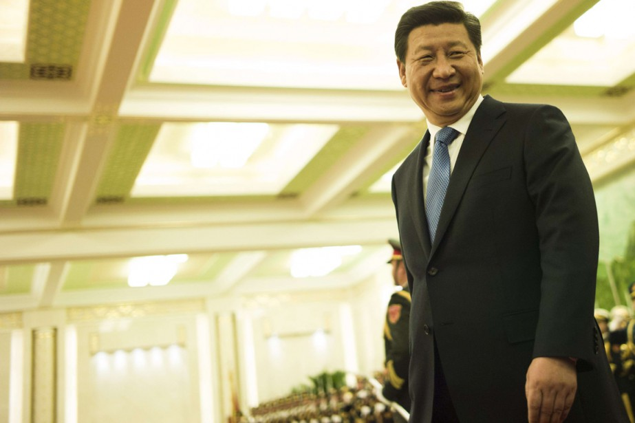 Le président chinois Xi Jinping... (PHOTO FRED DUFOUR, ARCHIVES RUTERS)