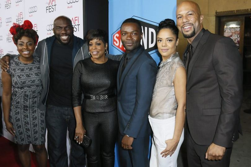 L'équipe du film Selma: Ledisi Young, Omar Dorsey,... (Photo: Reuters)