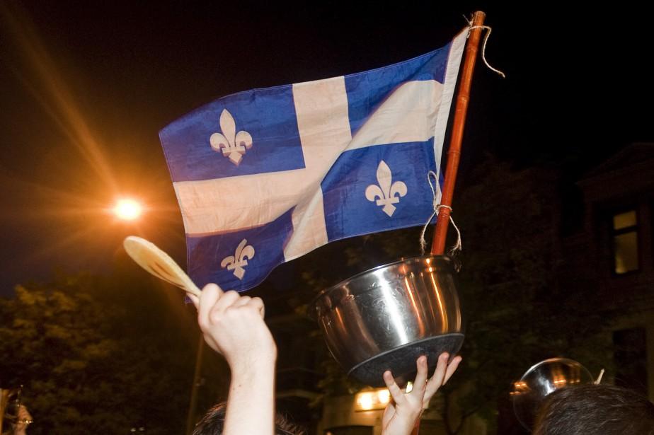 Au printemps 2012, plusieurs manifestants dénonçant la hausse... (Photo Graham Hughes, archives La Presse Canadienne)