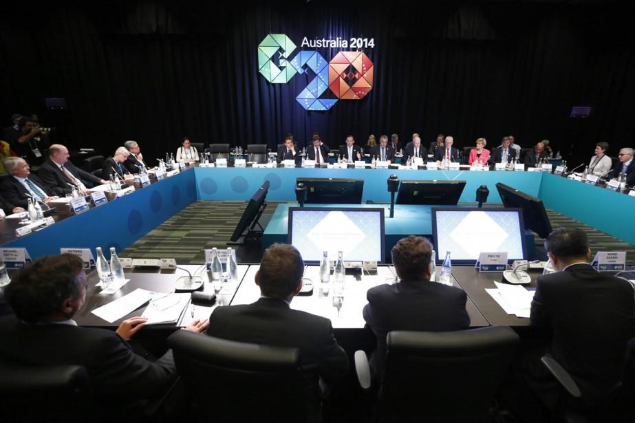 L'inclusion des problèmes climatiques dans le communiqué final... (Photo Reuters)