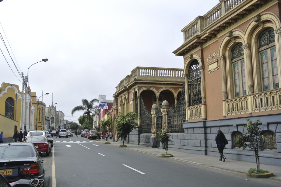 Au Pérou, le séisme a eu son épicentre... (Photo David Riendeau, collaboration spéciale)