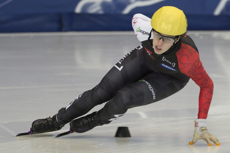Marianne St-Gelais... (Photo Graham Hughes, La Presse Canadienne)