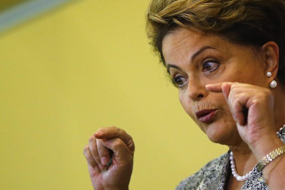 La présidente du Brésil Dilma Rousseff... (PHOTO RICARDO MORAES, ARCHIVES REUTERS)