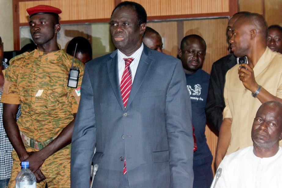 Figure de la diplomatie burkinabè, Michel Kafandoa été... (PHOTO ROMARIC HIEN, AFP)