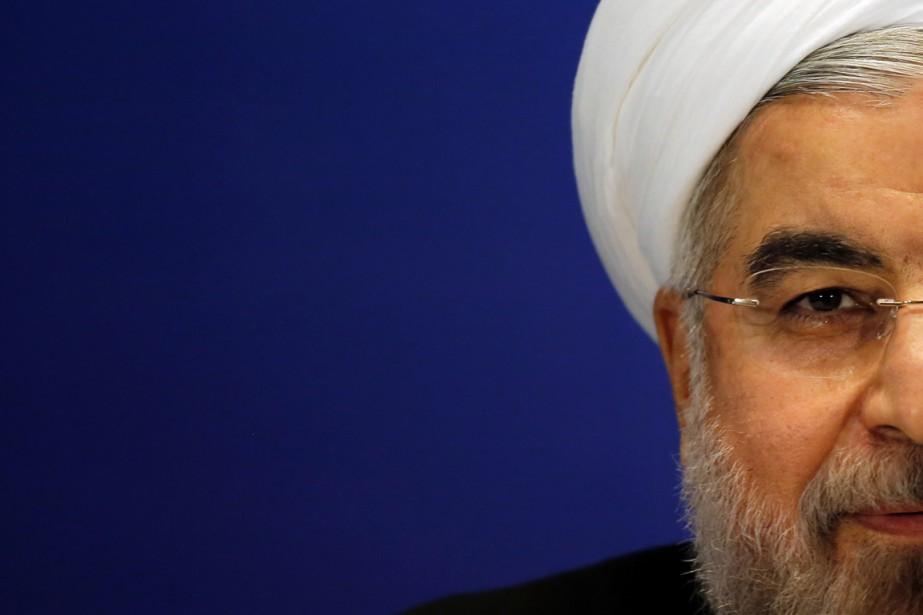 Le président iranienHassan Rohani.... (PHOTO CARLOS BARRIA, ARCHIVES REUTERS)