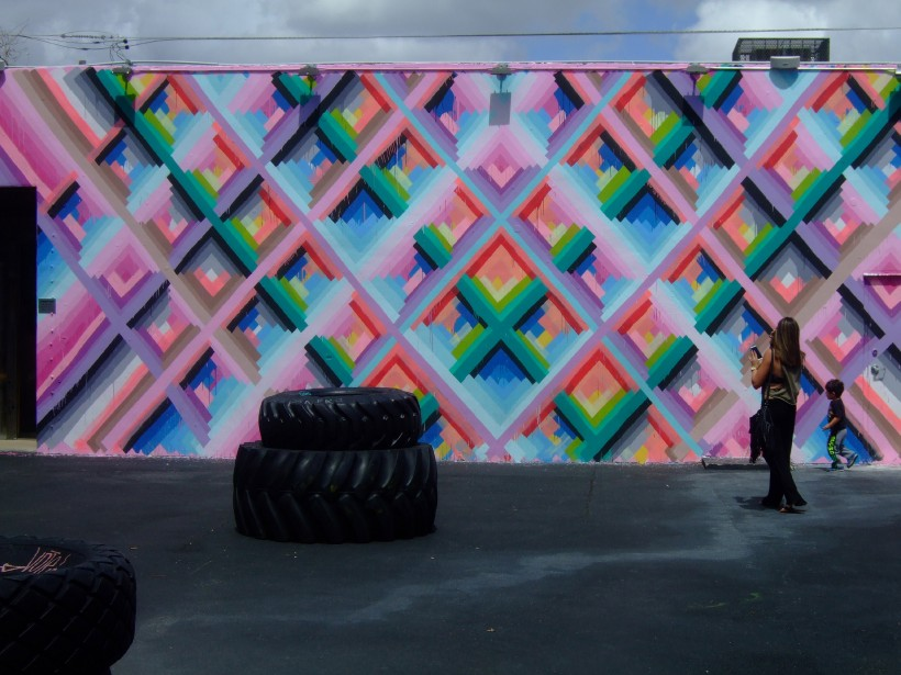 Les murales réalisées par des artistes de nombreux pays enjolivent le quartier de Wynwood. (PHOTO ANDRÉE LEBEL)