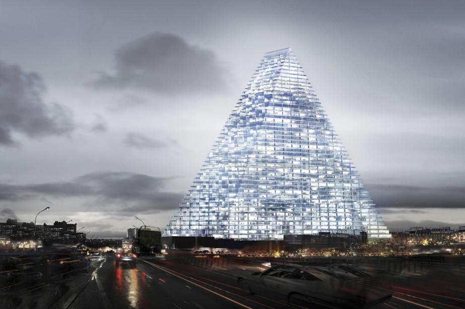Dessiné par le cabinet d'architectes suisses Herzog et... (PHOTO AP / HERZOG & DE MEURON)