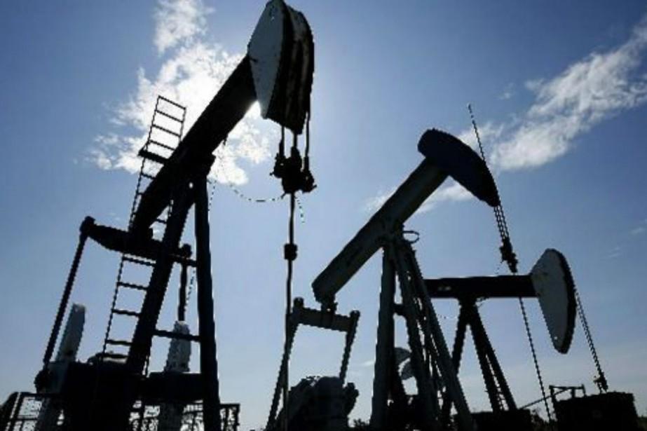 Les cours du pétrole coté à New York et à Londres ont... (Photo: Archives PC)