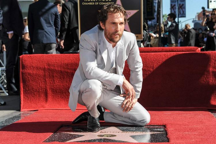 Matthew McConaughey estl'un des acteurs les plus recherchés... (Photo: AP)