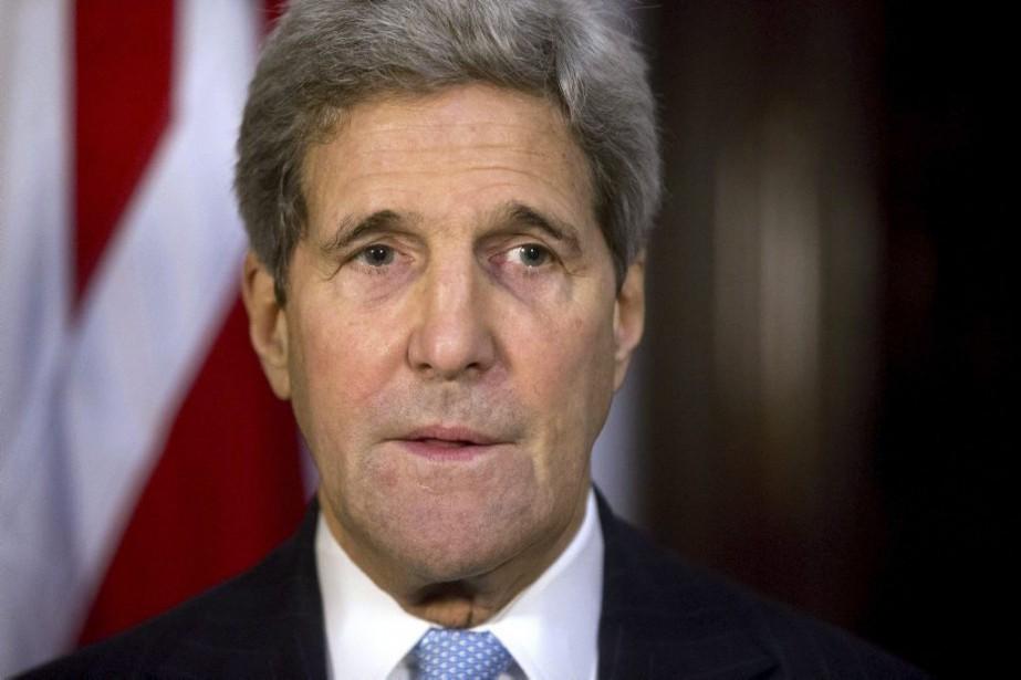 John Kerry... (PHOTO MATT DUNHAM, AGENCE FRANCE-PRESSE)