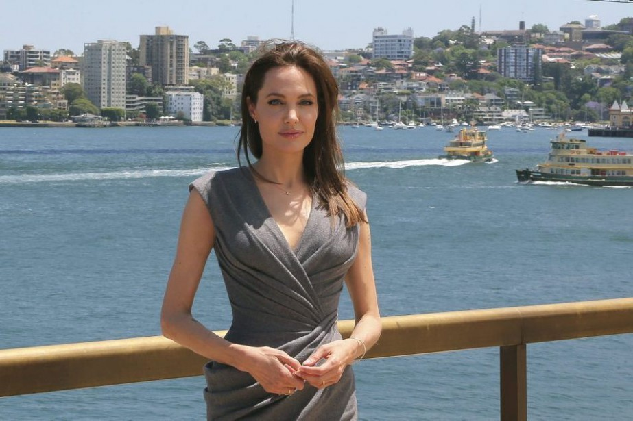 Angelina Jolie a présenté Unbroken à Sydney.... (Photo: AP)