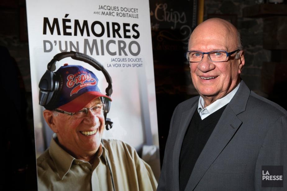 Jacques Doucet a lancé lundi le livre Mémoires... (Photo Robert Skinner, La Presse)